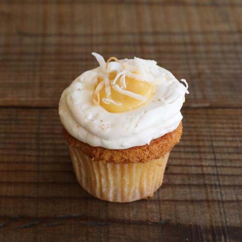 Bi-Rite Creamery Lemon Coconut Cupcakes