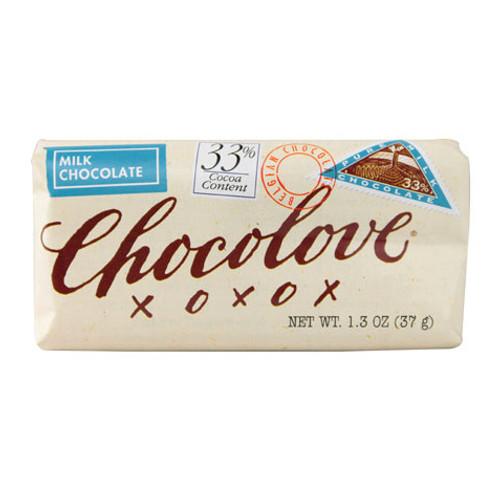 Chocolove 33% Pure Milk Chocolate Bar