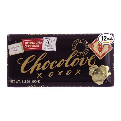 Chocolove 70% Dark Chocolate Bar