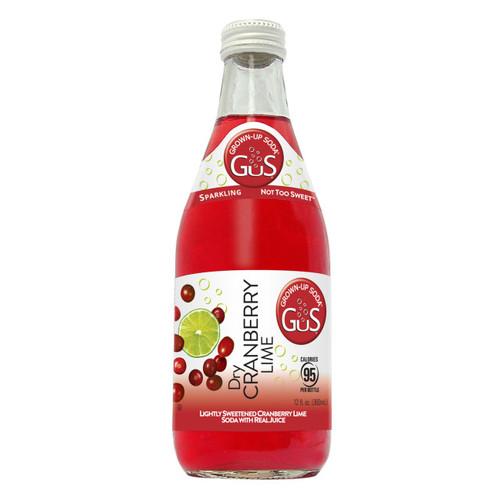 GuS Sodas Cranberry Lime