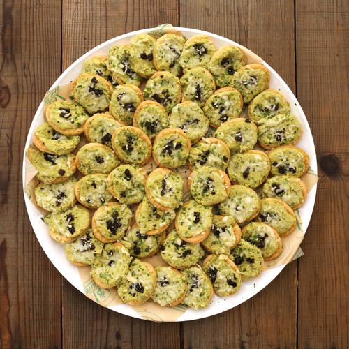 Spring Pea  Savory Tartlets