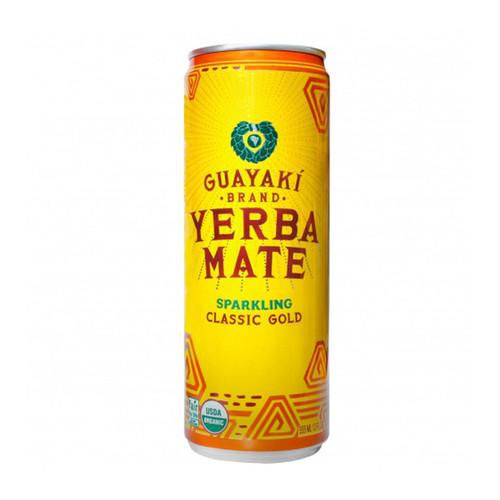 Guayaki Yerba Mate Sparkling Classic Gold