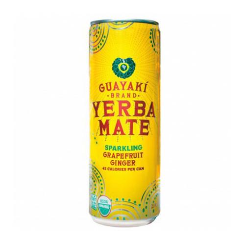 Guayaki Yerba Mate Sparkling Grapefruit Ginger