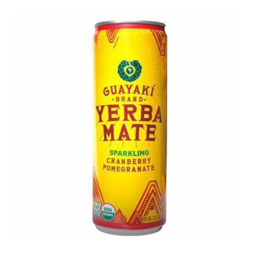 Guayaki Yerba Mate Sparkling Cranberry Pomegranate