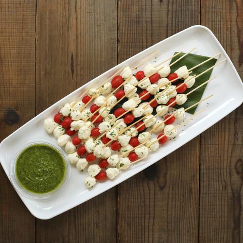 Mozzarella & Cherry Tomato Skewers