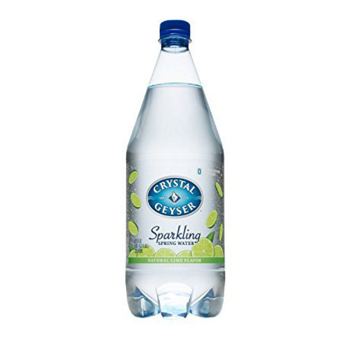 Crystal Geyser Sparkling Water - Lime