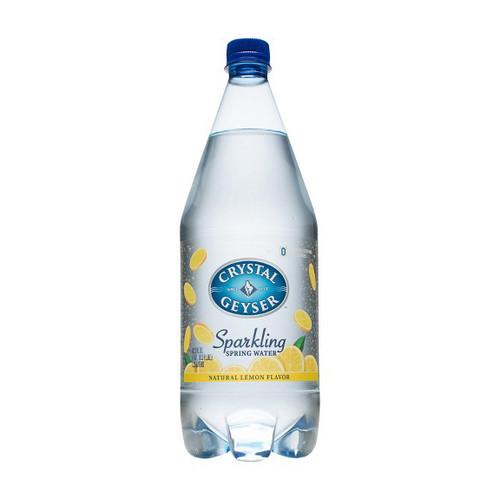 Crystal Geyser Sparkling Water - Lemon