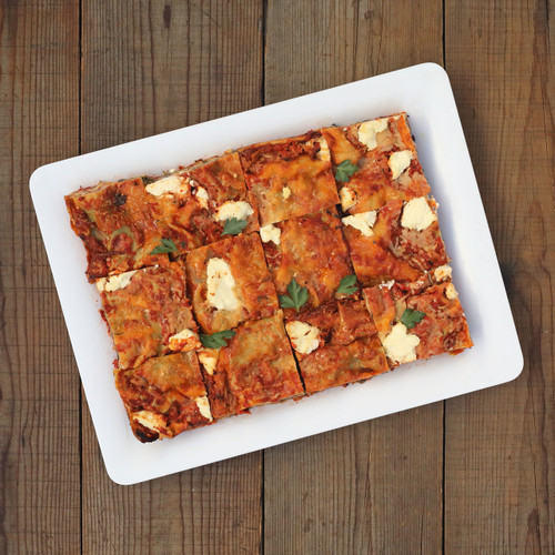 Hot - Vegetarian Lasagna Platter