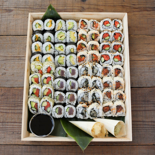 Sustainable Sushi Roll Platter -  Large