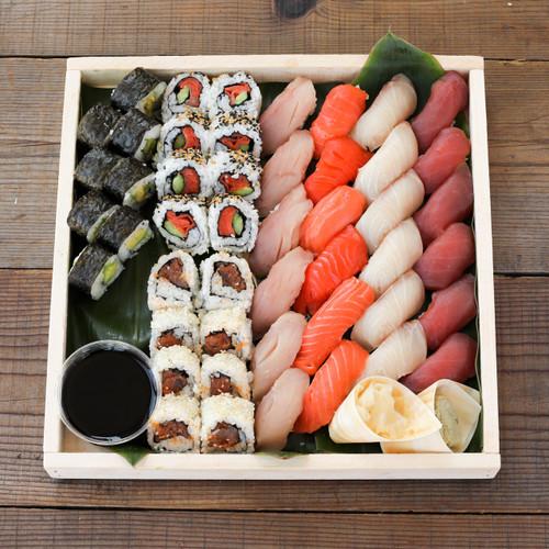 Sustainable Sushi Roll and Nigiri Combo Platter -  Small