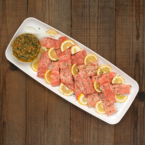 Wild Salmon with Citrus Gremolata