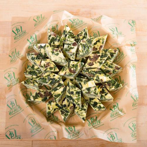 Hot - Spinach & Mushroom Frittata