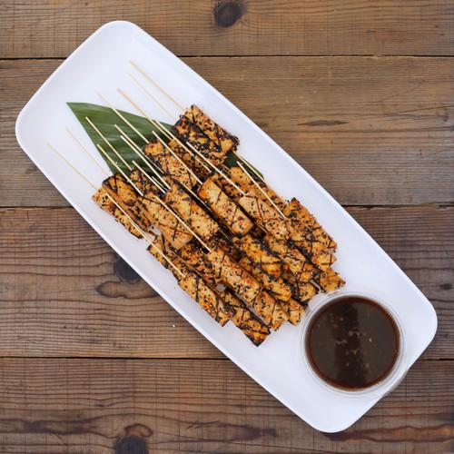 Grilled Sesame Tofu Skewers