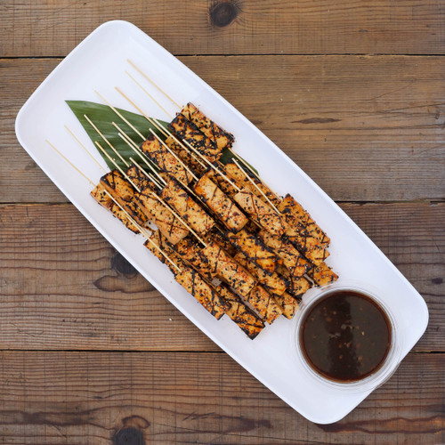 Grilled Sesame Tofu Skewers