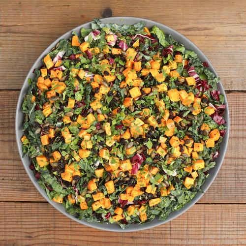 Kale & Roasted Winter Squash Salad