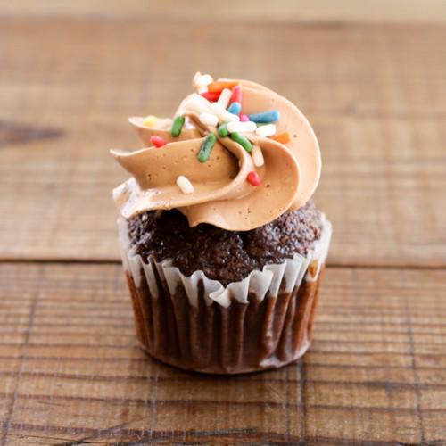 Bi-Rite Creamery Chocolate Birthday Cupcakes
