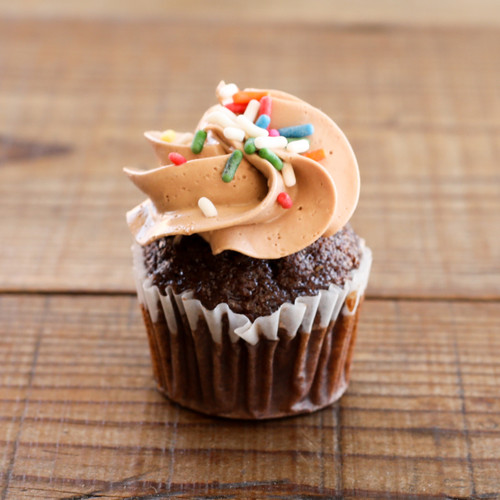 Bi-Rite Creamery Chocolate Birthday Cupcakes