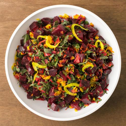 Roasted Red Beet Salad