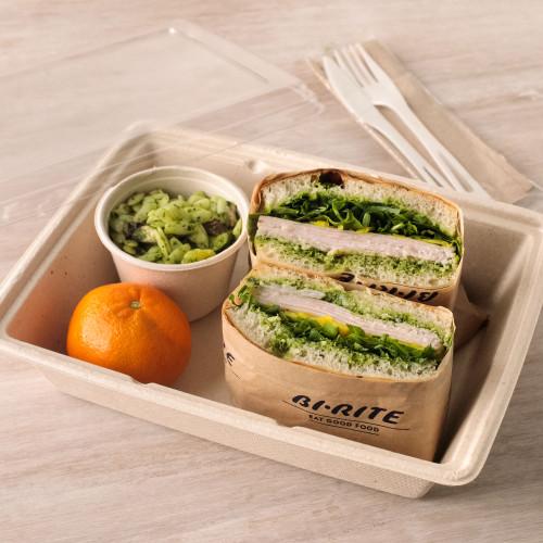 Turkey Pesto & Pickled Fennel Sandwich Boxed Lunch
