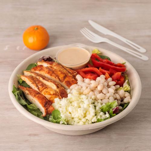 Achiote Chicken & Chipotle Caesar Salad Bowl