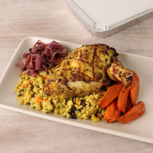 Moroccan Chicken with Minted Couscous