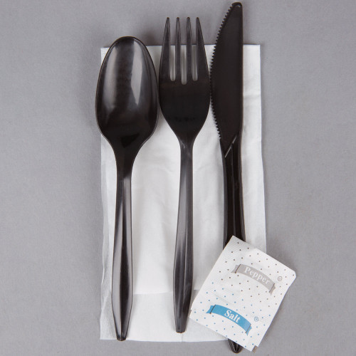 Individual Pre-Wrapped Utensil Pack