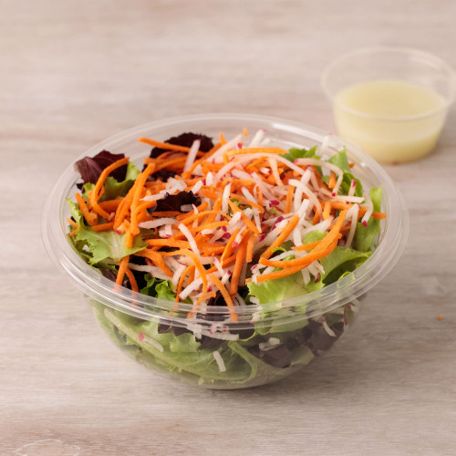 Spring Mix Side Salad with Carrots