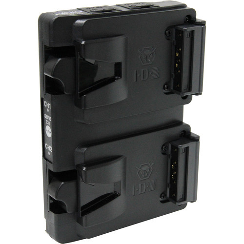 IDX A-Vmicro2 Dual V-Mount Hot-Swap Plate for Imicro Batteries