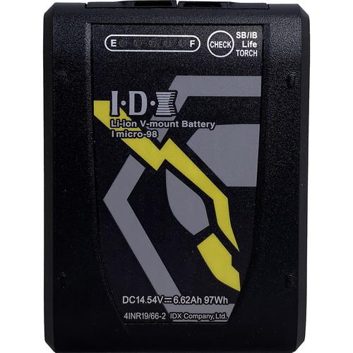 IDX Imicro-98 14.5V 97Wh Li-Ion V-Mount Battery