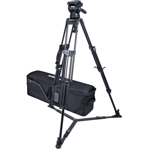 Miller CX14 Sprinter II 2-Stage Aluminum Alloy Tripod System with Ground Spreader