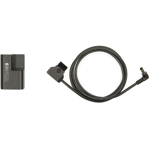 "SmallHD Faux LP-E6 Battery and 36"" D-Tap to Barrel Connector Cable"