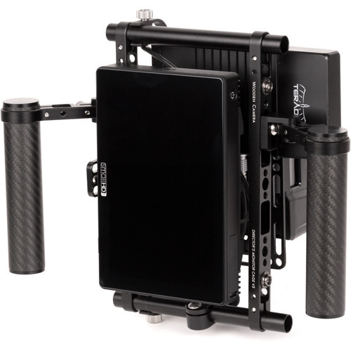 Wooden Camera Director'S Monitor Cage Vertical Conversion Kit