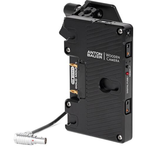 Wooden Camera Battery Slide for RED KOMODO Camera (Gold Mount)