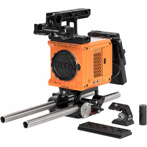 Wooden Camera Pro Accessory Kit for RED KOMODO (V-Mount)
