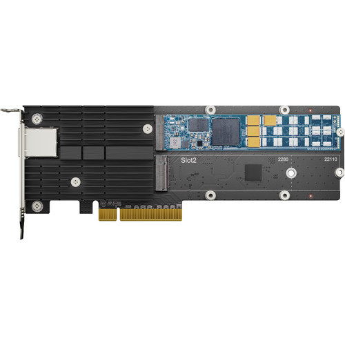 Synology E10M20-T1 M.2 SSD & 10GbE Combo Adapter Card