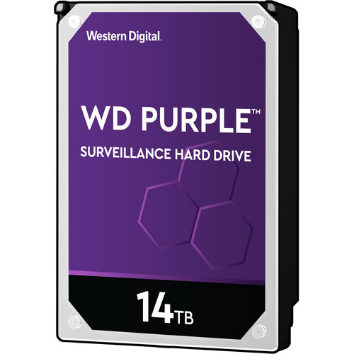 "Western Digital Surveillance Purple 14Tb 3.5"" Internal Hard Drive"