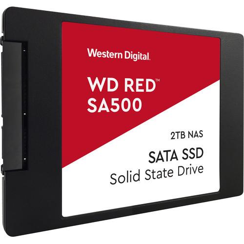 "Western Digital 2TB Red SA500 SATA III 2.5"" Internal NAS SSD"