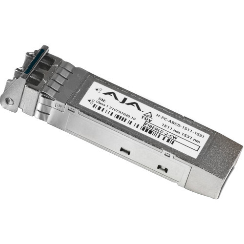 AJA FIB-2CW-4345 CWDM Small Form-Factor Pluggable Module with LC Connector (Single Mode, 1431/1451nm)
