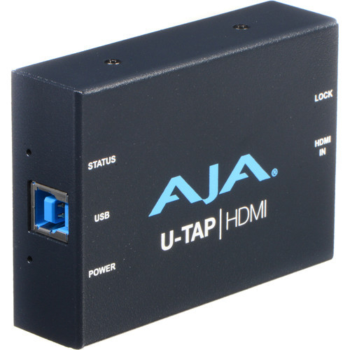AJA U-TAP HDMI USB 3.0 Capture Device