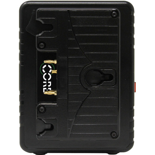 Core SWX GPM-X2A Mini Dual Travel Battery Charger (Gold Mount)