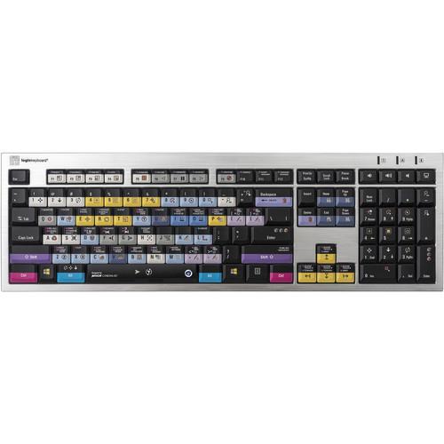 LogicKeyboard Maxon Cinema 4D R19 PC Slim Line US