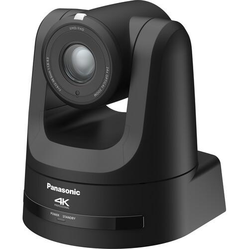 Panasonic 4K NDI Pro 12G-SDI/HDMI PTZ Camera with 24x Optical Zoom (Black)