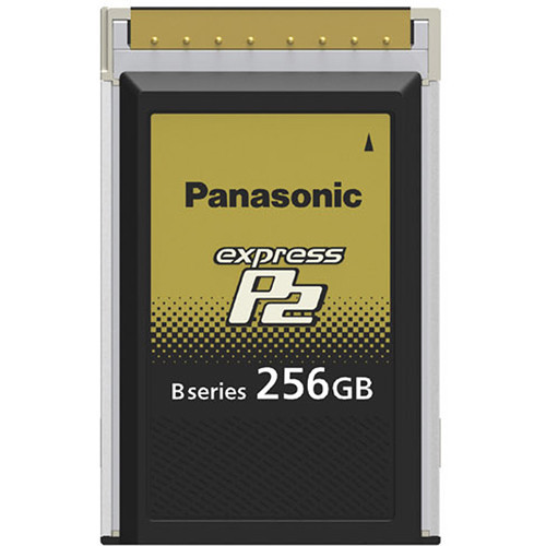 Panasonic 256GB B Series expressP2 Memory Card for VariCam Series