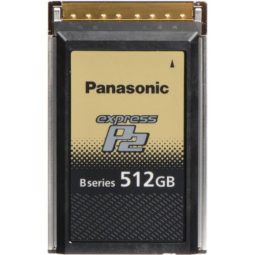 Panasonic 512GB B Series expressP2 Memory Card for VariCam Series