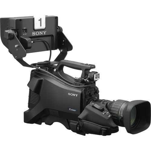 "Sony Full HD Studio Camera with 7"" Viewfinder and 20x Lens"