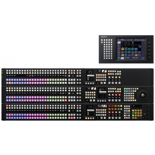 Sony MVS Series Mid-Range SD/HD Video Switcher with 3 M/E (Black)