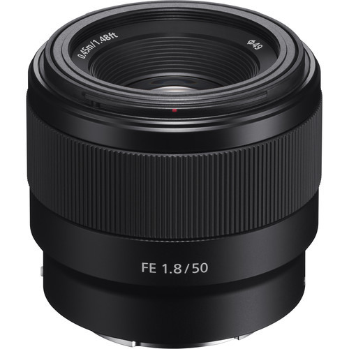 Sony FE 50mm f/1.8 Lens