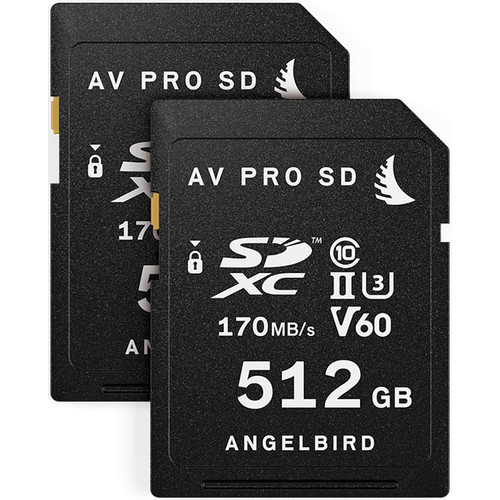Angelbird 1TB Match Pack for the Fujifilm X-T3 (2 x 512GB)