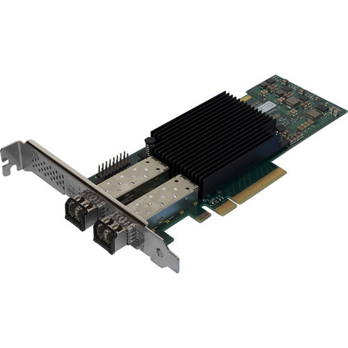 ATTO Celerity Dual-Channel 16 Gb/s Fiber-Channel PCIe 3.0 Host Bus Adapter with 2 x SFP+ Transceivers