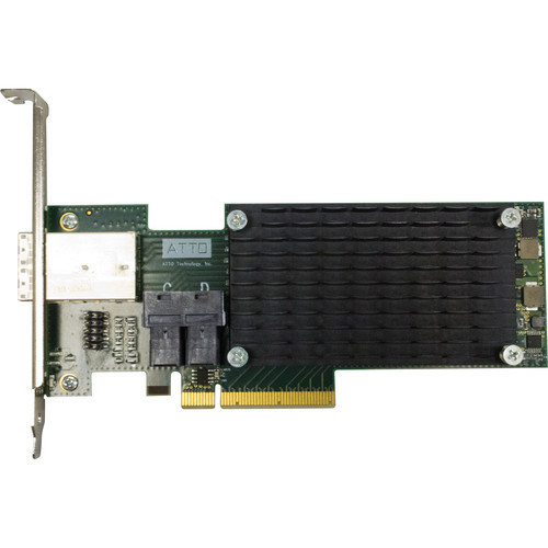 ATTO ExpressSAS H1288 12 Gb/s SAS/SATA to PCIe 3.0 Host Bus Adapter